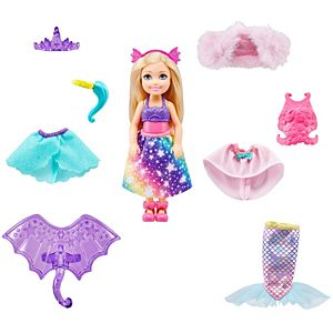 Barbie™ Dreamtopia Chelsea™ Doll Dress-Up Set with 12 Fashion Pieces