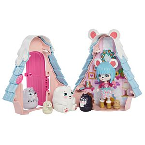 Enchantimals™ Secret Besties Pawbry Polar Bear Chalet™ Dolls