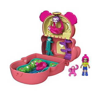 Polly Pocket™ Flip & Find™ Sloth Compact
