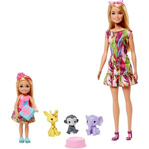 ​Barbie® and Chelsea™ The Lost Birthday™ Playset with Barbie® & Chelsea™ Dolls, 3 Pets & Accessories