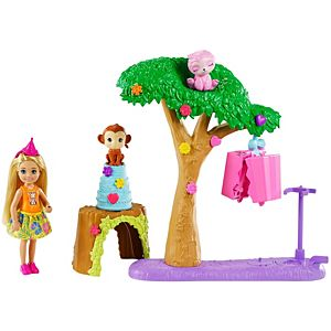 Barbie® and Chelsea™ The Lost Birthday™ Party Fun Playset with Doll & 2 Animals
