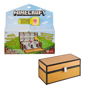Minecraft Collector Chest and Exclusive Mini Figure