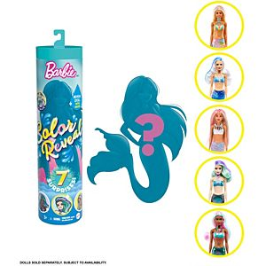 Barbie® Color Reveal™ Doll with 7 Surprises