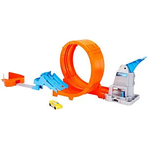 Hot Wheels® Loop Stunt Champion™ Track Set