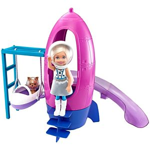 Barbie® Space Discovery™ Chelsea™ Doll & Rocket Ship-Themed Playset with Puppy