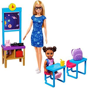 Barbie® Space Discovery™ Barbie® Doll & Science Classroom Playset with Student Small Doll