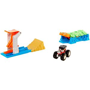 Hot Wheels® Monster Trucks Launch and Bash Play Set