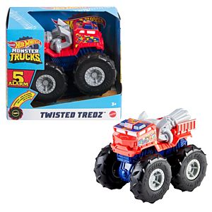 Hot Wheels® Monster Trucks Twisted Tredz™ 5 Alarm Vehicle