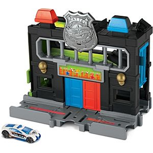 Hot Wheels® Downtown Police Station Playset