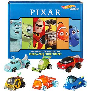 Hot Wheels® Disney/Pixar Character Cars 6-Pack