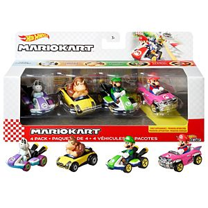 Hot Wheels® Mario Kart Vehicle 4-Pack