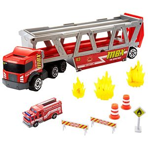 Matchbox® Fire Rescue Hauler™ Playset