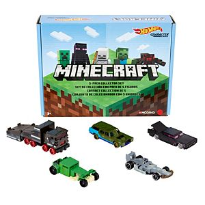 Hot Wheels® Minecraft 5-Pack