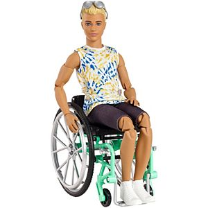 Ken® Fashionistas™ Doll #167 with Wheelchair & Ramp