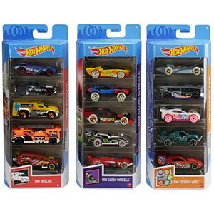 Hot Wheels® Variety Fun 5-Pack Bundle