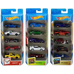 Hot Wheels® Collector 5-Pack Bundle