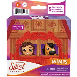 Spirit Untamed Surprise Mini Horse & Friend, Styles May Vary