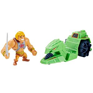 Masters of the Universe® Eternia® Minis He-Man® & Ground Ripper™ Pack