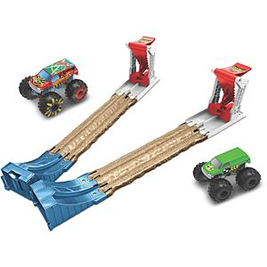 Hot Wheels® Monster Trucks Double Destruction® Play Set