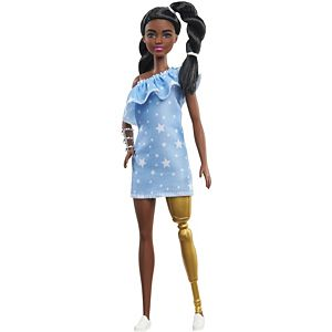 Barbie® Fashionistas™ Doll #146 with 2 Twisted Braids & Star-Print Dress