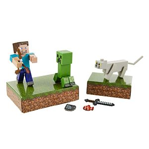 Minecraft Story Pack - Scaredy Creeper Adventure Pack Figures