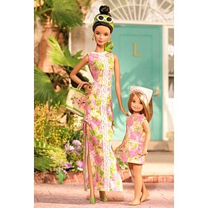 <em>Lilly Pulitzer</em> Barbie® and Stacie® Doll Giftset