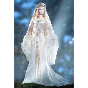 Barbie® Doll as Galadriel in The Lord of the Rings: The Fellowship of the Ring
