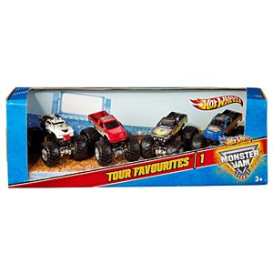 Hot Wheels® Monster Jam® Tour Favorites®