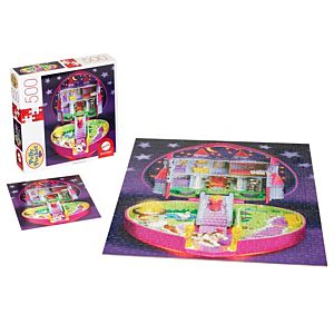 Polly Pocket™ Mattel® Jigsaw Puzzle with 500 Pieces & Mini-Poster for 8 Year Olds & Up