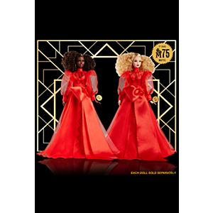 Barbie® Signature Mattel 75th Anniversary Twin Tribute Gift Set