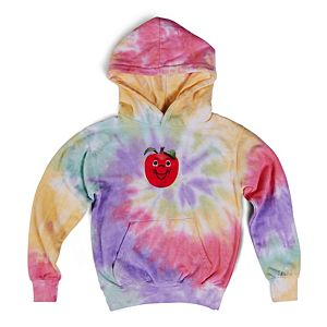 The Apple of My Tie Dye Hoodie