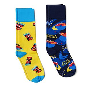 Space Blazer & Radio Control Racer Socks - Pack of 2