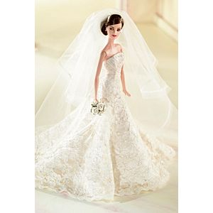 <em>Carolina Herrera Bride</em> Barbie® Doll