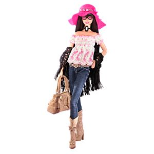Anna Sui <em>Boho</em> Barbie&#174; Doll