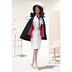 <em>The Nurse</em> Barbie® Doll