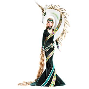 Lady of the Unicorns™ Barbie® Doll by Bob Mackie