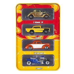 Hot Wheels® Hot Rods 4-Car Pack