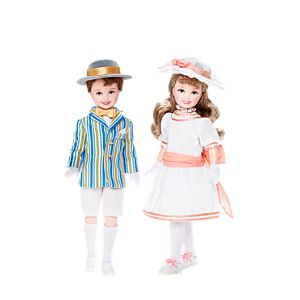 Jane & Michael Stacie® and Todd® Dolls