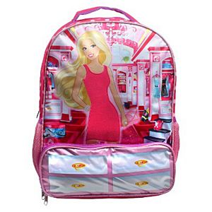 "Mattel 16"" Barbie® Dream Closet Kids Backpack - Pink"