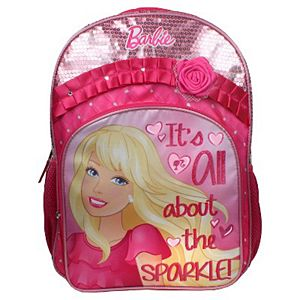 "Barbie All About The Pink 16"" Backpack Pink"