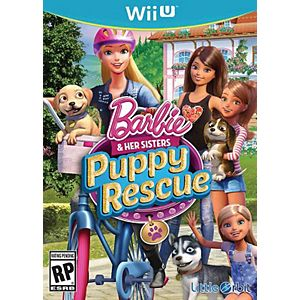 Barbie and Her Sisters : Puppy Rescue (Nintendo Wii U)