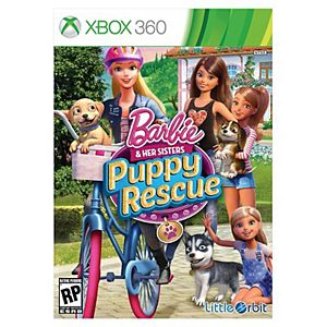 Barbie and Her Sisters : Puppy Rescue (Xbox 360)
