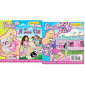I Can Be… a Zoo Vet/I Can Be… a Cheerl ( The Barbie) (Paperback) by Mary Man-Kong