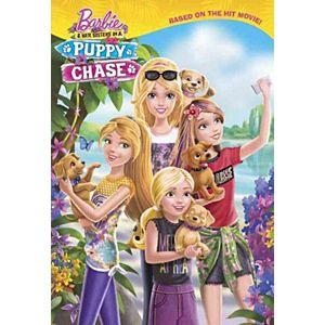 Barbie & Her Sisters In a Puppy Chase (Library) (Molly McGuire Woods)