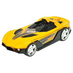 Hot Wheels Hyper Racer Light and Sound Yur So Fast