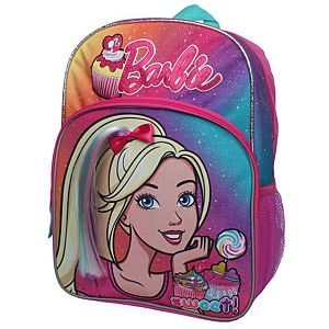 "Barbie ""Sweet!"" Candy Locs 16 inch Backpack with Side Mesh Pockets"