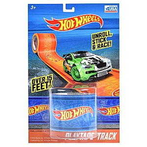 Hot Wheels Play Tape Track 1.75 Inch x 15 Inch - Blue