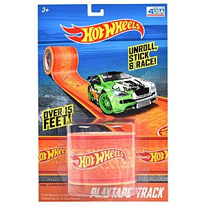 Hot Wheels Play Tape Track 1.75 Inch x 15 Inch - Orange
