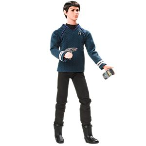 Ken® doll as Mr. Spock