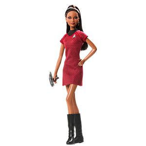 Barbie® Doll as Lt. Uhura